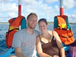 On our way to the Watamu National Park to snorkel...