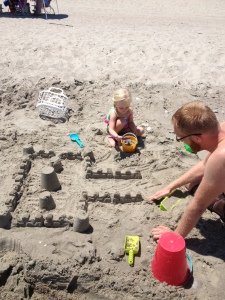 Building a princess castle...