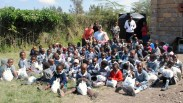 The students at Calvary Christian School Ruai...