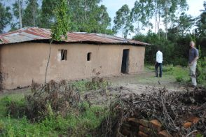 The mud church where we met in Nyakatch...
