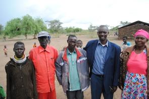 The Leadership of the Kakuma Feeding Programs...