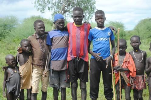 Village Children...
