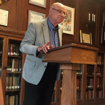 Dr. Tony Campolo gave the opening address of Residency.
