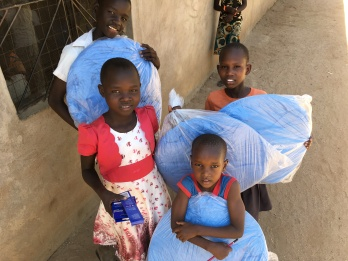 Mosquito Net Distribution in Loki...
